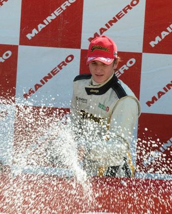 Franco Girolami volvió, corrió y ganó