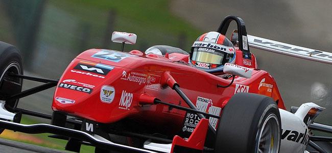 Regalia subió al podio en Vallelunga
