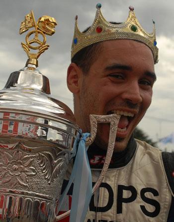 Leonel Sotro, el dueño de la corona