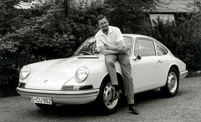 Falleció el creador del Porsche 911