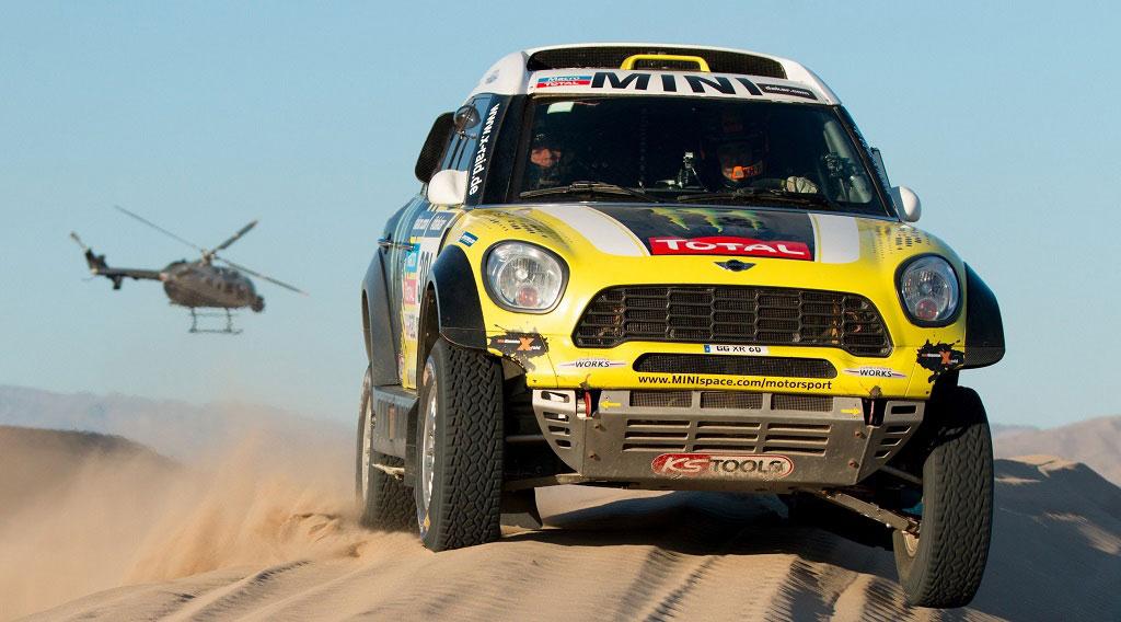 Mini copó el podio del Dakar