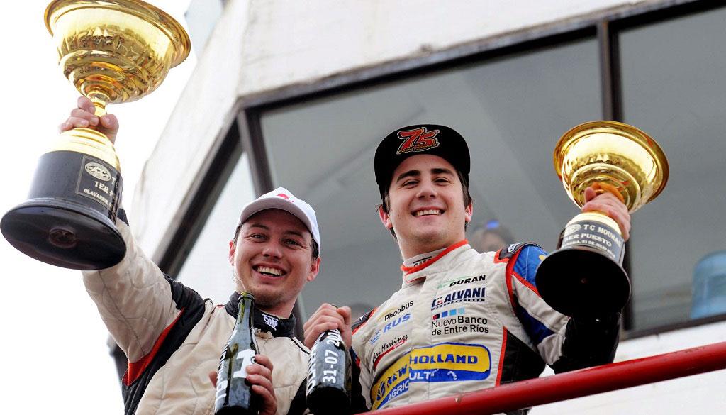 Ronconi y Paoloni, ganadores
