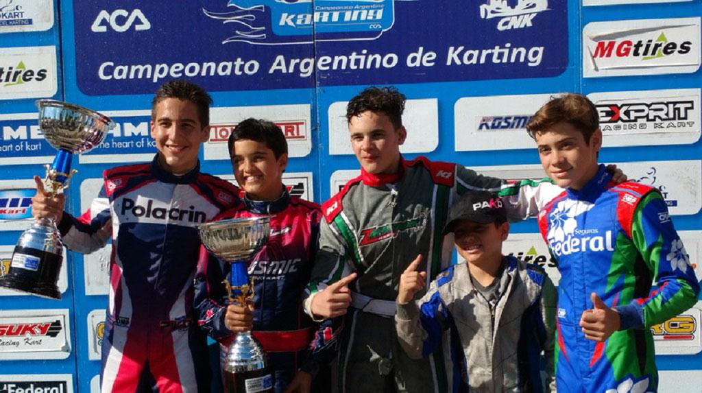 Los reyes del karting