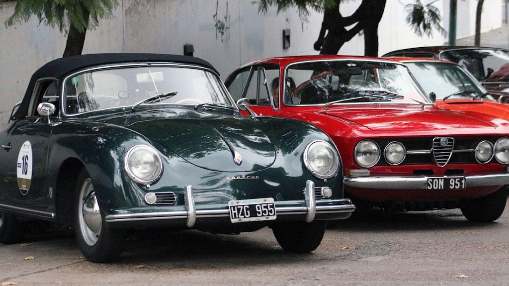 Un Porsche y un Alfa
